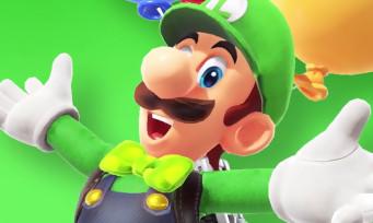 Super Mario Odyssey : un DLC avec Luigi arrive, voici les détails en vidéo