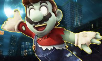 Super Mario Odyssey : Mario se transforme en zombie pour Halloween, un skin morbide