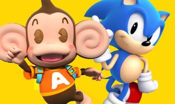 Super Monkey Ball Banana Blitz HD : Sonic débarque à toute vitesse dans ce nouveau trailer énergique