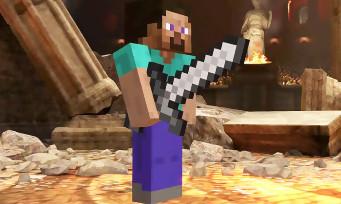 Super Smash Bros. Ultimate : Steve et Alex (Minecraft) débarquent dans le jeu