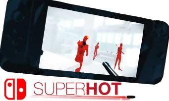 Superhot : le jeu s'annonce sur Switch avec un trailer qui éclabousse