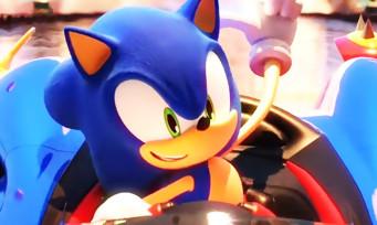 Team Sonic Racing : une vidéo avec du gameplay qui rappelle le concept du jeu