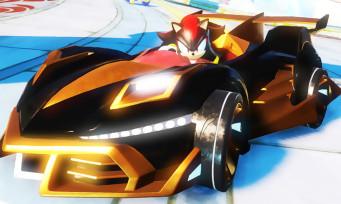 Team Sonic Racing : trois quarts d'heure de gameplay, c'est fluo et mouvementé
