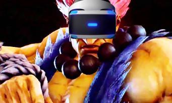 Tekken 7 : le mode VR a fuité et franchement, ça fait pas rêver...