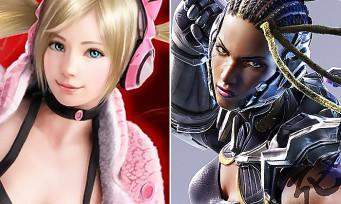 Tekken 7 : Lucky Chloe et Master Raven s'en mettent plein la tête, la preuve en vidéo