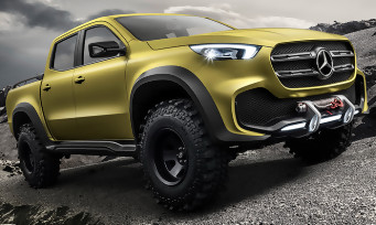 The Crew 2 : la Mercedes-Benz X-Class 2018 se montre en vidéo