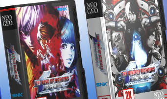 KOF 2002 Unlimited Match: two NeoGeo Shockbox collector editions at Pix'n Love