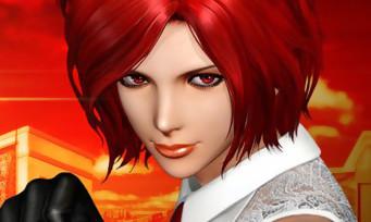 The King of Fighters XIV : après Whip, c'est au tour de Vanessa de mettre le feu en vidéo