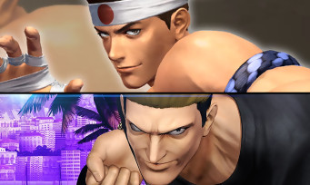The King of Fighters XIV : Ryuji Yamazaki et Joe Higashi se frittent en vidéo