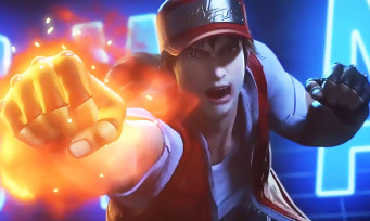 KOF Destiny : dans l'Episode 16, Terry Bogard sèche Geese Howard avec un Burning Knuckle