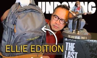The Last of Us 2 : notre unboxing de la Ellie Edition avec le vrai sac à dos d'Ellie