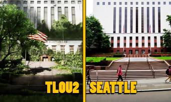 The Last of Us 2 : une vidéo compare le jeu avec la vraie ville de Seattle