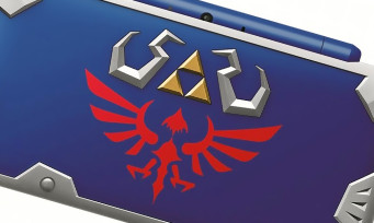 2DS XL : une nouvelle console collector Zelda, la Hylian Shield Edition