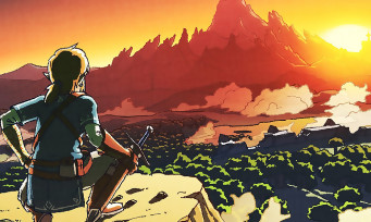 Zelda Breath of the Wild : gigantesque, la map du jeu est comparée à celles de tous les autres Zelda et de Skyrim