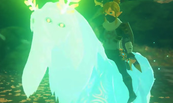 "Zelda Breath of the Wild : voici comment capturer le ""Cheval Alpha"", appelé aussi ""Lord of the Mountain"""