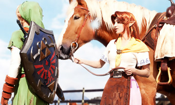 Zelda Breath of the Wild : le Lon Lon Ranch d'Ocarina of Time en Easter Egg, voici comment le dénicher