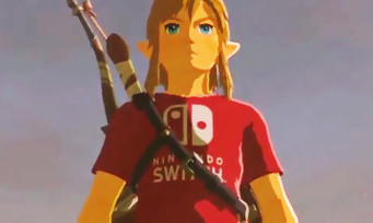 "Zelda Breath of the Wild : il existe un t-shirt ""Nintendo Switch"", voici comment l'obtenir"