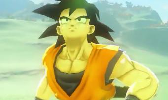 Zelda Breath of the Wild : quand Son Goku débarque dans le royaume Hyrule avec un bouclier Bob l'Eponge
