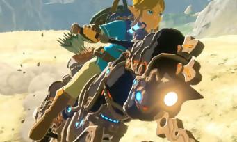 Zelda Breath of the Wild : Nintendo explique comment Link s'est retrouvé avec une moto dans le jeu