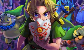 The Legend of Zelda Majora's Mask 3D : un trailer pour annoncer le remake sur 3DS