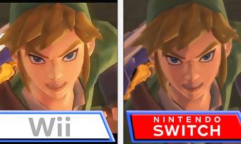 Zelda Skyward Sword HD : comparatif entre les versions Wii et Switch, quasi aucune différence