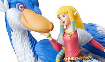 Zelda Skyward Sword HD : l'amiibo Zelda et son Célestrier, une vidéo pour expliquer à quoi il sert