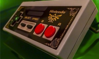 NES : une manette collector aux couleurs de Zelda