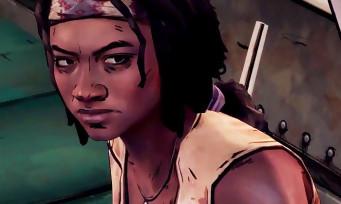 The Walking Dead Michonne : un trailer de lancement avec des gros coups de machette
