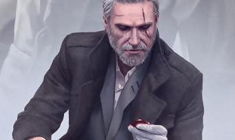 The Witcher 3 : Geralt, Ciri et Yennefer en mode Film Noir des années 50