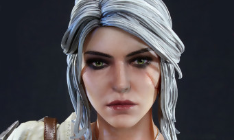 The Witcher 3 Wild Hunt : une superbe statue de Ciri à plus de 600€ !