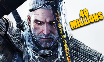 The Witcher : 40 millions de ventes dont la moitié pour The Witcher 3, respect