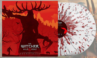 The Witcher 3 : un quadruple vinyle blanc maculé de sang pour la bande-son