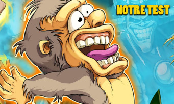 Test Toki : la taille de la banane ne fait pas la force du gorille
