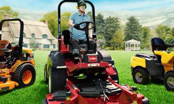 Tondeuse à Gazon Simulator : couper l'herbe de son jardin sur PC et Xbox Series X, ça va être possible !
