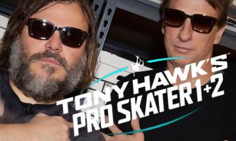 Tony Hawk 1 + 2 Remastered : Jack Black et Antoine Faucon font une démo manette en main