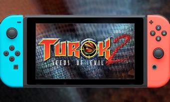 Turok 2 Seeds of Evil : le FPS culte de la N64 débarque en août sur Switch !