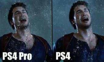 Uncharted 4 : une vidéo comparative pour voir ce que la PS4 Pro apporte au jeu