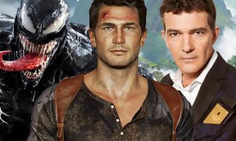 Uncharted : le film se dégote le réalisateur de Venom, Antonio Banderas confirmé au casting