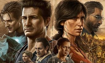 Uncharted 4 et The Lost Legacy arrivent sur PC et PS5 dans une compilation, infos et trailer 4K