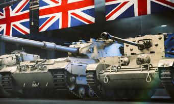 World of Tanks : l'armée britannique débarque sur PS4 via une mise à jour et un trailer