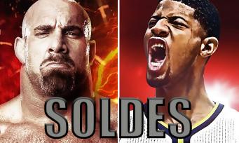 NBA 2K17 / WWE 2K17 : les deux jeux baissent de prix sur PS4 et Xbox One
