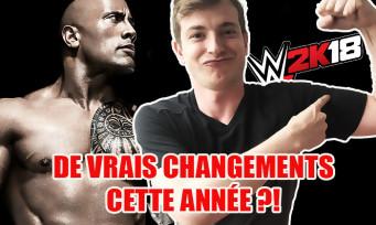 WWE 2K18 : de vrais changements cette année ? Nos dernières impressions avant le test