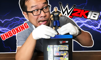 WWE 2K18 : et si on unboxait le collector à 140€ avec la figurine de John Cena ?