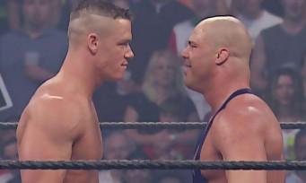 WWE 2K18 : Kurt Angle, John Cena et Dave Bautista entrent sur le ring en vidéo