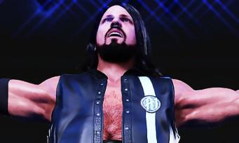 WWE 2K19 : de premières images de gameplay, AJ Styles sous le feu des projecteurs