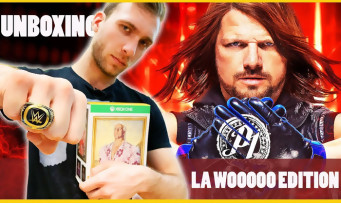 WWE 2K19 : notre unboxing de la Wooooo! Edition, le collector à 140€