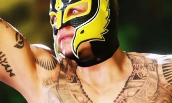 WWE 2K19 : un trailer musclé pour les DLC dédiés à Ronda Rousey, Rey Mysterio et Ric Flair