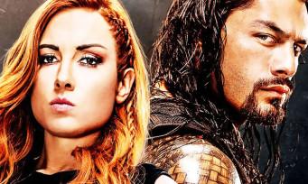 WWE 2K20 : Becky Lynch et Roman Reign sur la jaquette, la date de sortie révélée