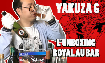 Yakuza 6 : on unboxe le collector et on teste les verres à whisky !