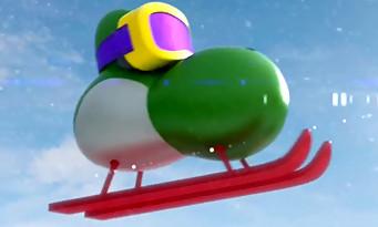 Yoshi's New Island : les transformations de Yoshi dans une pub télé
